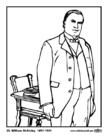 Bilde å fargelegge 25 William McKinley
