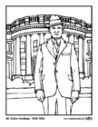 Bilde å fargelegge 30 Calvin Coolidge