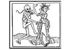 Bilde å fargelegge Ã¥ danse med de døde