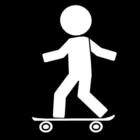 Bilde å fargelegge Ã¥ skate