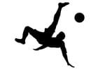 Bilde å fargelegge Ã¥ spille fotball