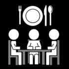 Bilde å fargelegge Ã¥ spise sammen