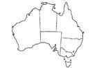 Bilde å fargelegge Australia