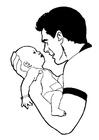 Bilde å fargelegge baby