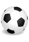Bilde å fargelegge ball