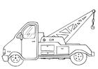 Bilde å fargelegge bergningsbil