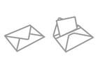 Bilde å fargelegge brev