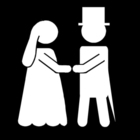 Bilde å fargelegge bryllup
