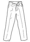 Bilde å fargelegge bukser