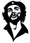 Bilde å fargelegge Che Guevara