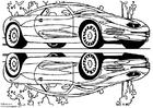 Bilde å fargelegge Chrysler visningsbil