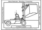 Bilde å fargelegge containertruck