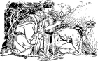 Bilde å fargelegge de tre hellige konger