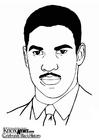 Bilde å fargelegge Denzel Washington