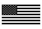 Bilde å fargelegge det amerikanske flagget