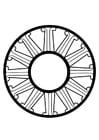 Bilde å fargelegge dharma hjul