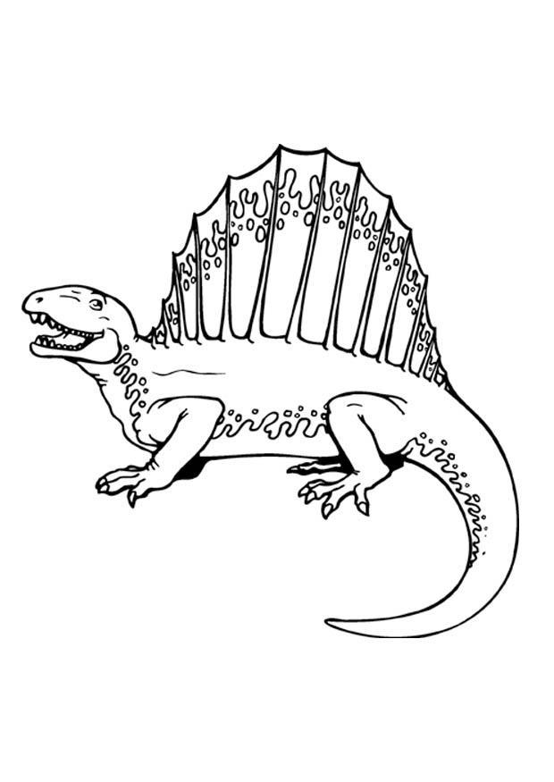 Kleurplaat Tijger Printen Bilde 229 Fargelegge Dinosaur Bil 9369