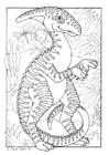 Bilde å fargelegge dinosaur