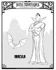 Bilde å fargelegge Dracula