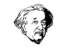 Bilde å fargelegge Einstein