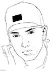 Bilde å fargelegge Eminem