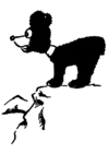 Bilde å fargelegge en bjørn pÃ¥ et fjell