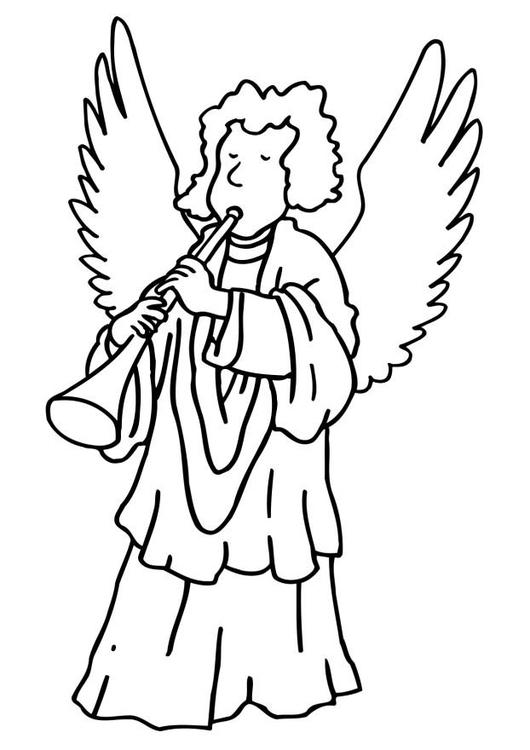 bilde 229 fargelegge engel gratis bildene for fargelegging