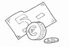 Bilde å fargelegge Euro