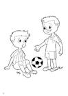 Bilde å fargelegge fair play