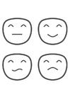 Bilde å fargelegge følelser