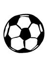 Bilde å fargelegge fotball