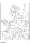 Bilde å fargelegge Fragonard