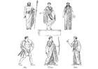 Bilde å fargelegge greske guder og gudinner