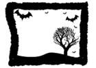 Bilde å fargelegge Halloween bilde