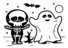 Bilde å fargelegge Halloween