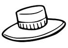 Bilde å fargelegge hatt