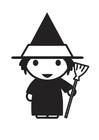 Bilde å fargelegge heks