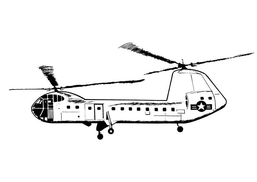 Apache Helikopter Kleurplaat Archidev
