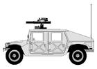 Bilde å fargelegge Hummer - bilmerke