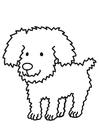 Bilde å fargelegge hund