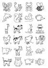 Bilde å fargelegge ikoner for barn