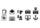 Bilde å fargelegge ikoner