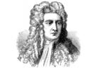 Bilde å fargelegge Isaac Newton