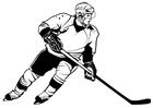 Bilde å fargelegge ishockey
