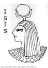 Bilde å fargelegge Isis