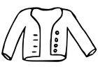 Bilde å fargelegge jakke