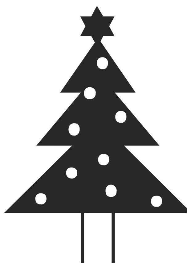 Oppdatert Bilde å fargelegge juletre med julestjerne - bil 20398. Images GH-86