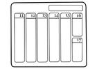 Bilde å fargelegge kalender