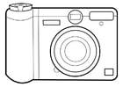 Bilde å fargelegge kamera