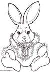 Bilde å fargelegge kanin
